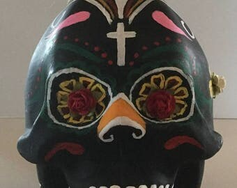 June On Sale Large Day of the Dead Skull Potion Divination Samhain Sabbat Witch Wicca Pagan Spirituality Religion Hoodoo Metaphysical Maiden