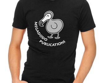 Megadodo Publications T-Shirt - of Ursa Minor Beta - Hitch Hikers Guide To The Galaxy - h2g2 T-Shirt (Mens, Ladies, Kids)