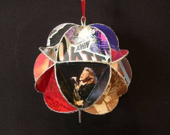 Hall & Oates Album Cover Ornament Made Of Record Jackets - Daryl Hall John Oates