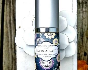 Rest in a Bottle    Honeysuckle Edelweiss Restorative Eye Cream
