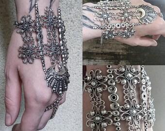 Tribal bracelet boho cuff