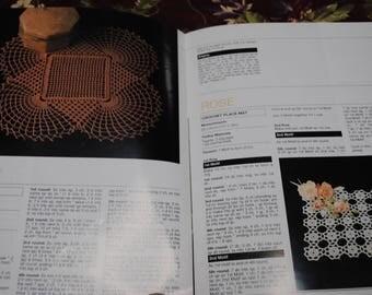 Vintage 1970s Doilies Crochet PATTERN Book - 'The Twilleys Twenty' Book #3- Free Postage Australia Wide