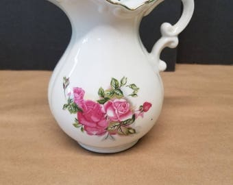 Vintage Porcelain Pitcher