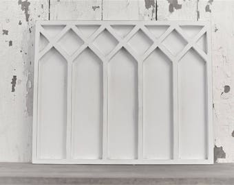 Vintage Inspired 14.5x18 Rectangle Double Layer Gothic Window Frame