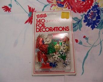 eureka foil decorations