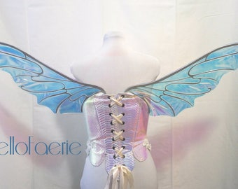 Nebula TOP Wing Metal Mix and Match Wings Cosplay Iridescent fairy wings