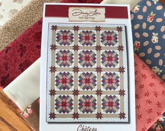 Chateau - Quilt Kit with Compassion Fabric from Moda