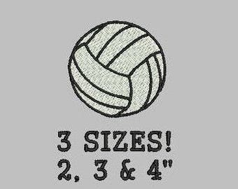 Buy 1 Get 1 Free!  Volleyball Embroidery Design Mini Volleyball Small Volleyball Sports Ball Embroidery Design Machine Embroidery Design