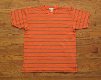 vintage 90s striped t shirt