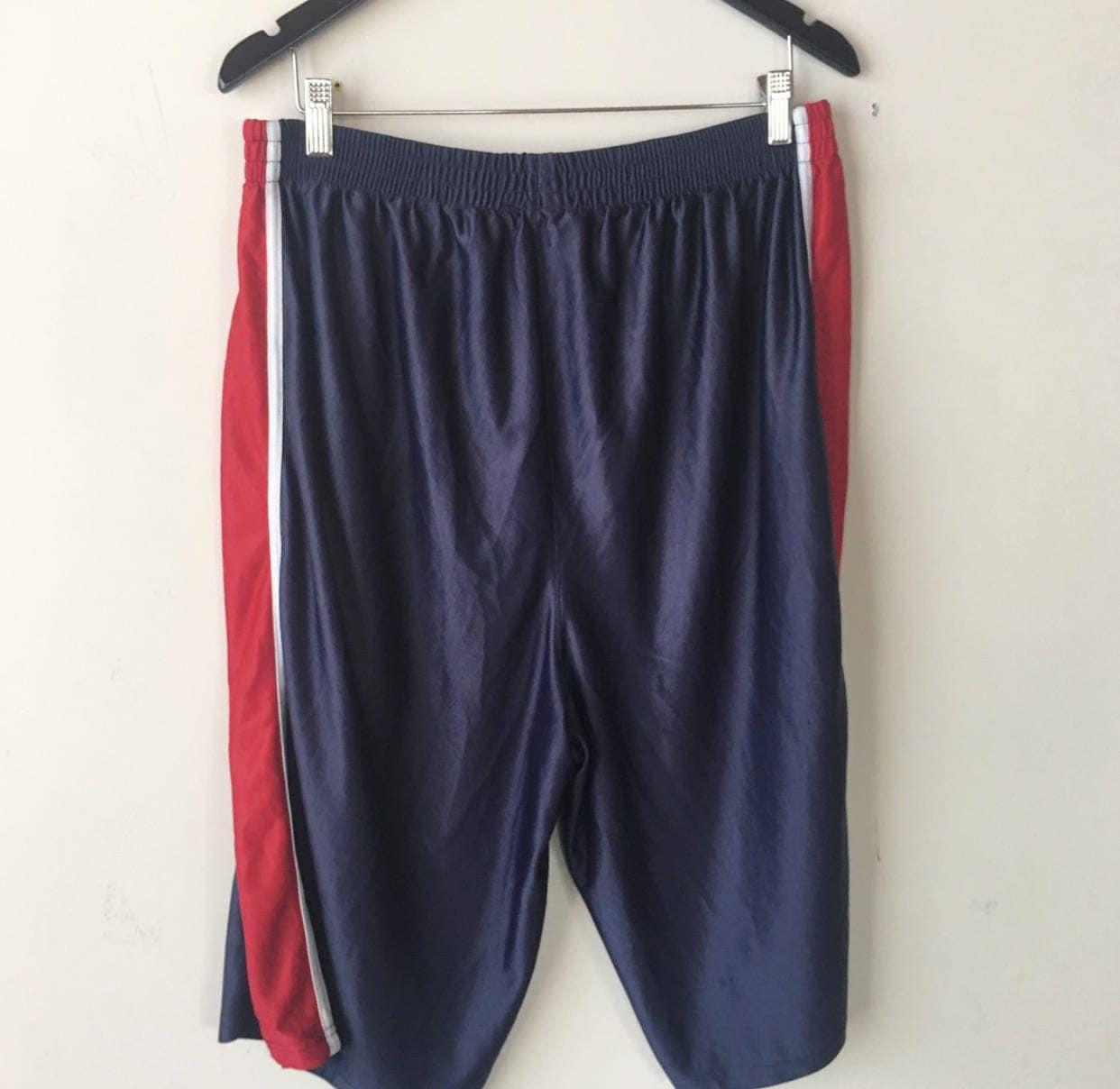 Vintage 90s NBA Shorts Sport Athletic Mens Clothing