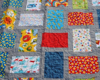 Dr. Seuss Quilt Prefect for a Toddler to Young Child