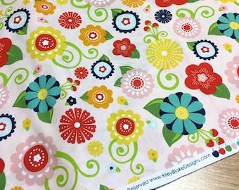 Riley Blake Lazy Day Cotton Fabric 2 3/4 yards