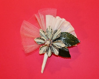 Origami Money Flower Corsage - Blooming Money
