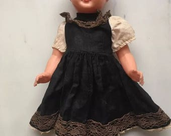 Vintage EDI German celluloid doll needs some tlc