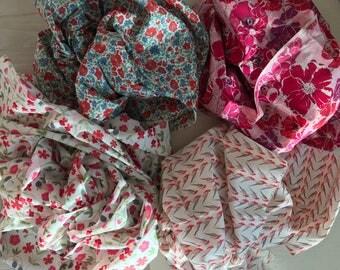 5 x Liberty Tana Lawn cottons