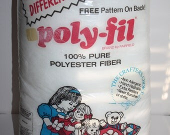 Fairfield Poly-Fil Polyester Fiberfill 12 oz Bag
