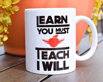 Funny Teacher Gift - Geek Gift - Fun Coffee Mug - Coffee Cup - Teacher Gift for Her - Teacher Gift for Him - Teacher Coffee Mug - Geekery