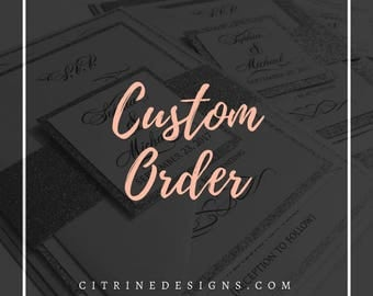 Custom Order for Kelsey:  Fan Programs and Itinerary Cards