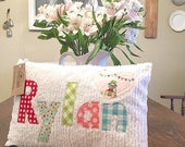 CUSTOM - 8 Personalized Name Pillows