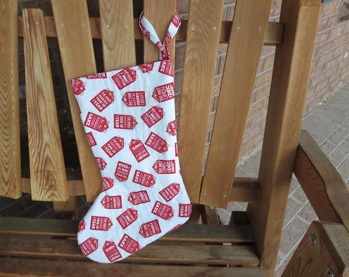 Featured listing image: Christmas Stocking - Christmas Tags