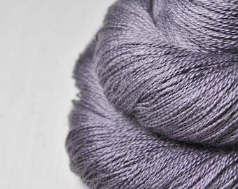 Withered lupin - BabyAlpaca/Silk Lace Yarn