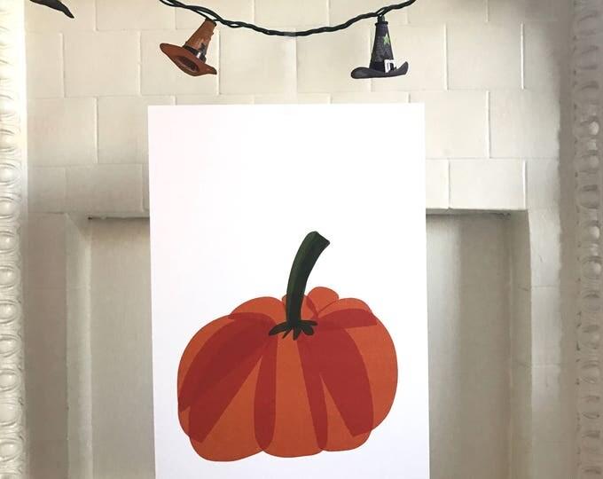 Featured listing image: Pumpkin Halloween Art Print