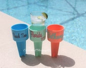 "RESERVED 8 Beach Spiker Cup holder Beach sand spiker PERSONALIZED ""Vintage 1978"" on 7 of them and ""Vintage 1977"" on 1"