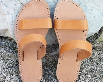 ON SALE Leather sandals , greek leather sandals ,handmade shoes , strap sandal