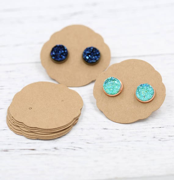 from button biz earring small by made earrings inspiration studs packaging jewls fabric atticus leaves for blog cole blue