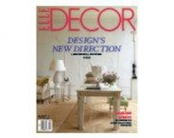 ELLE Décor 2-Year Magazine Subscription (20 Issues)