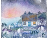 Sunrise Cottage - Special Signed Limited Edition Signed Print