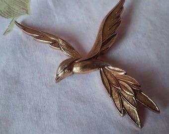 Made in France Bird Brooch