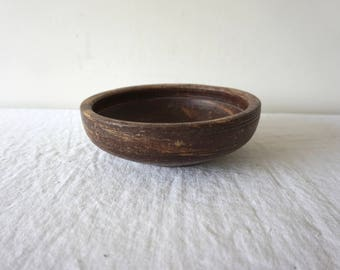 Stone Bowl Turned Stone Bowl Antique Bowl Brown Simple