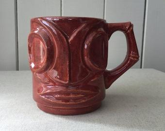 The Tea-Ki mug (rusty red)