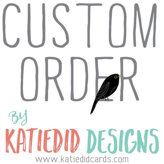Custom order for Anna P- Book Quiz