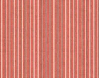 Scandi Home Grown Red Triple Stripe TP-1780-R by Makower UK for Andover