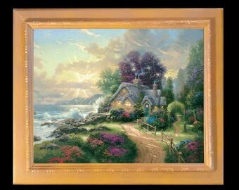 A New Day Dawning by Thomas Kinkade