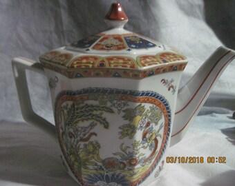 Vintage Ardalt  Japan Hand painted Lenwile Teapot