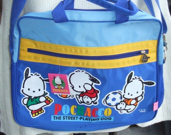 Vintage 1989, 1995 Pochacco Messenger Bag. Mint Condition. With Original Paper Tag. Perfect for Gift.
