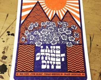 Lake Street Dive Official Concert Poster