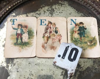 Maybe 10 Is Your Lucky Number Antique Cash Register Ten Cent Tag