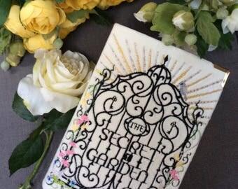 Book-clutch The Secret Garden