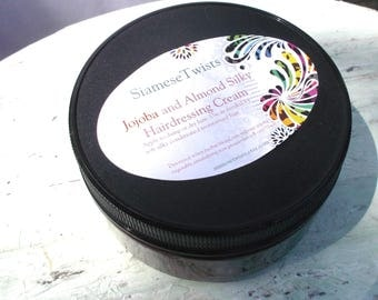 Jojoba and Almond Silky Conditioning Hairdressing Cream natural hair products,haircare,moisturizer