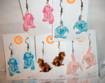 Bunnies Earrings  O