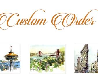 Custom Listing for Marie McKeeman. Please don't buy if you are not Marie McKeeman