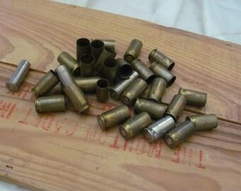 Vintage Manly Man Spent Bullet Casings Brass Metal Assorted Lot of 25