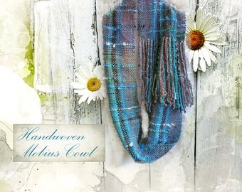 Handwoven Infinity Scarf ~ River Song