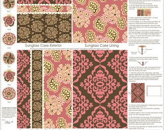 C2677 Brown Accessory Panel, Fiona's Fancy by Lila Tueller for Riley Blake