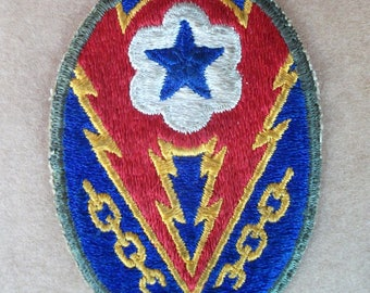 WW2 Headquarters European Theater of Operations patch,,  Original WW2 US Army Shoulder patch, ETO