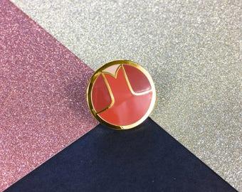 Major Kickass Enamel Pin Badge